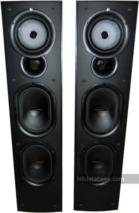 KEF Q75 Hi Fi Database Floorstanding Speakers