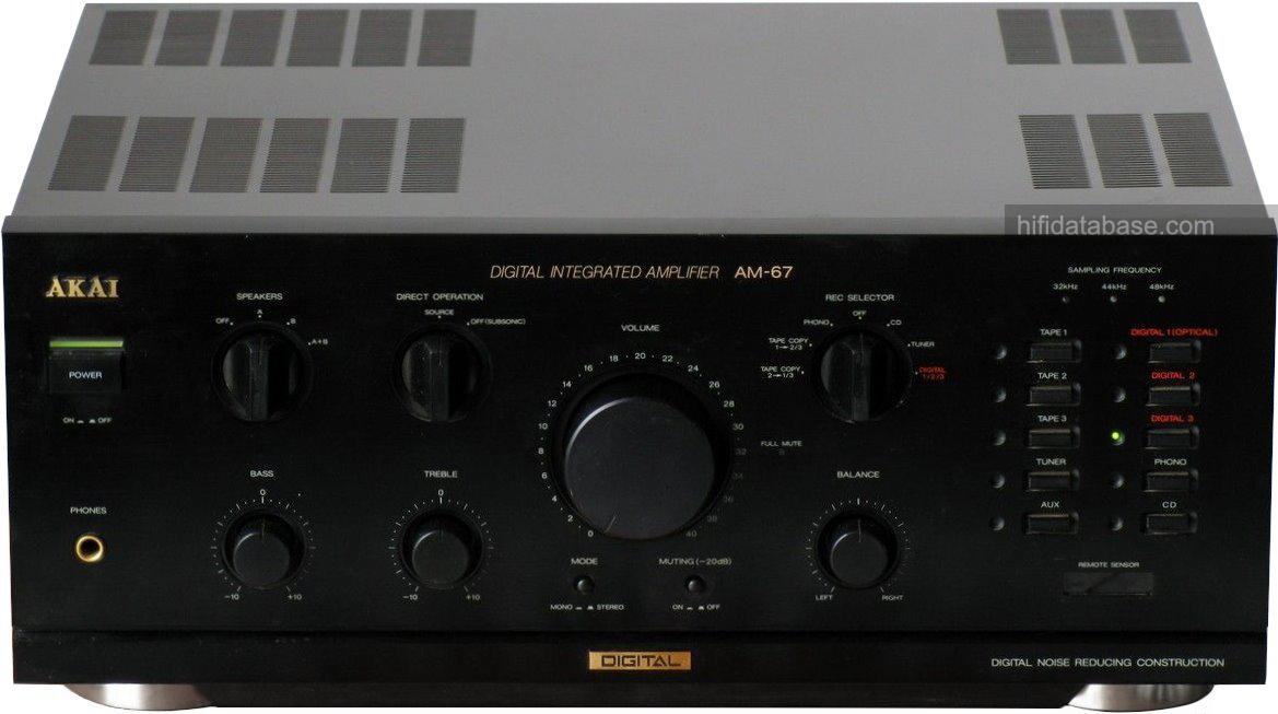 Akai Am 67 Hi Fi Database Amplifiers