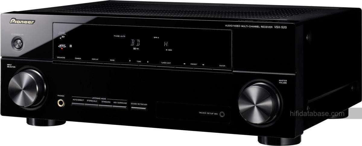 Pioneer VSX-520 - Hi-Fi Database - AV Amplifiers