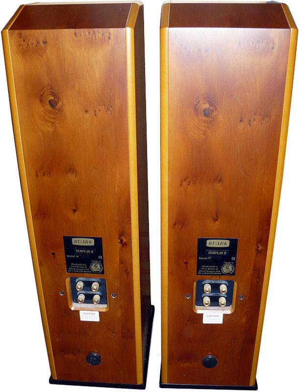 Ruark Templar Ii Hi Fi Database Floorstanding Speakers