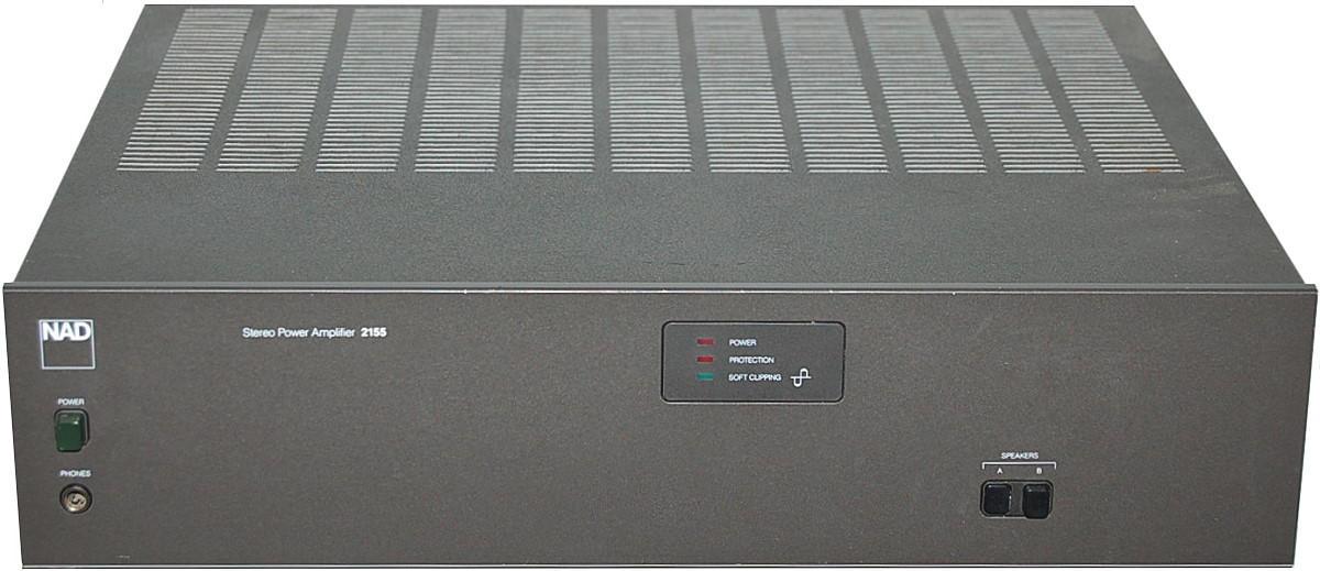 NAD 2155 - Hi-Fi Database Mobile - Stereo Power Amplifiers