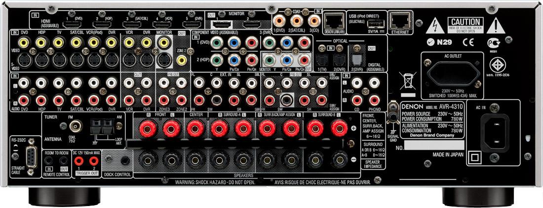 Denon AVR-4310 - Hi-Fi Database