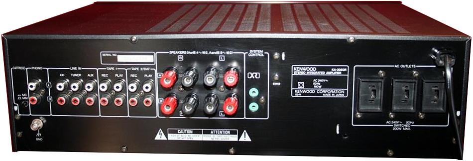 Kenwood KA-3050R - Hi-Fi Database Mobile - Amplifiers