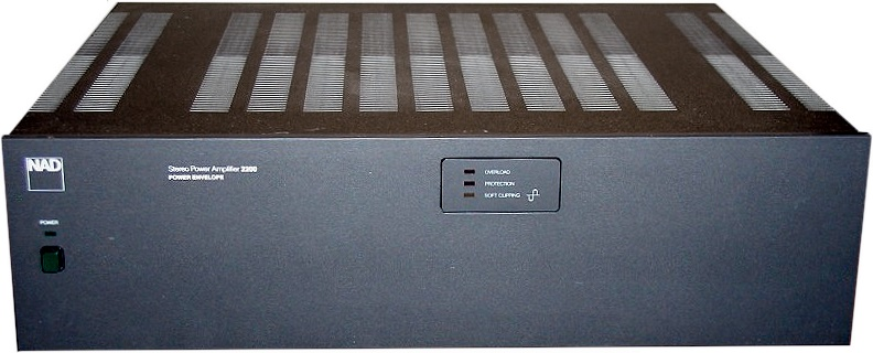 NAD 2200 - Hi-Fi Database - Stereo Power Amplifiers
