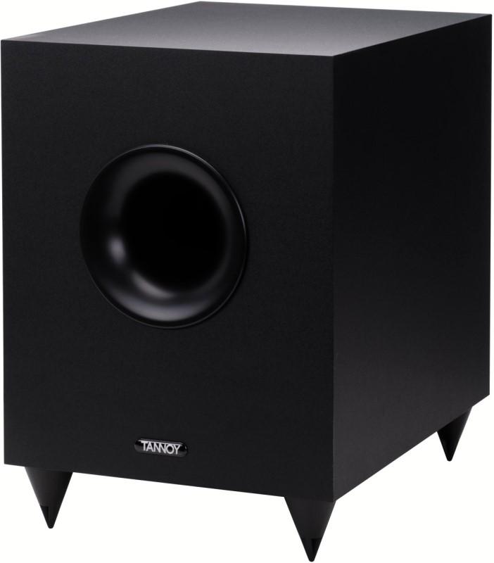 tannoy sfx 5 1 100w powered subwoofer home cinema speaker system black huge bass ebay. Black Bedroom Furniture Sets. Home Design Ideas