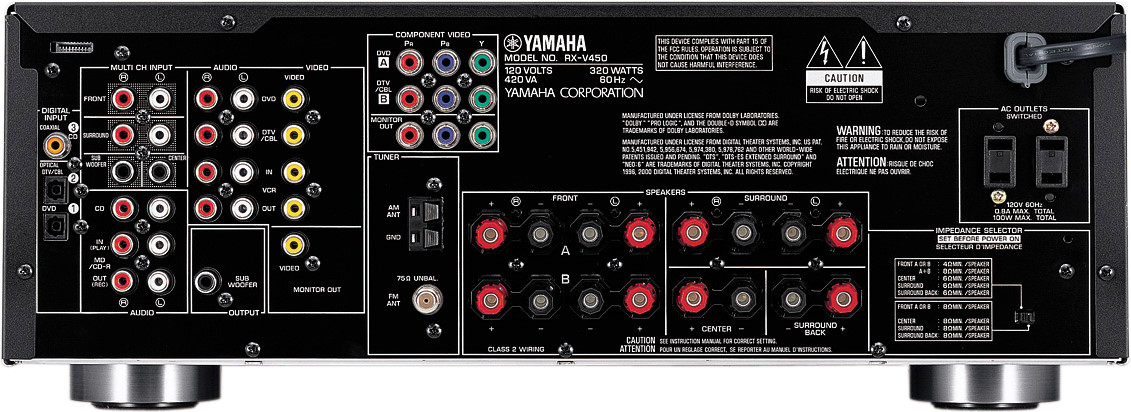 Yamaha Rx Areview
