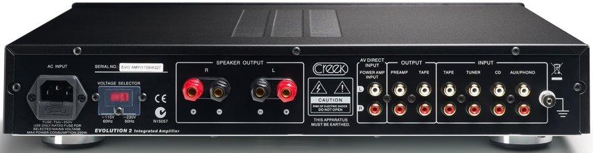 Creek Evolution 2 Integrated Amplifier