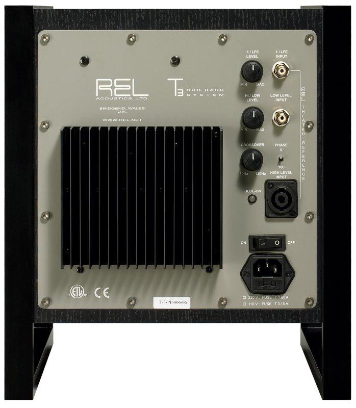 REL T3 - Hi-Fi Database - Subwoofers