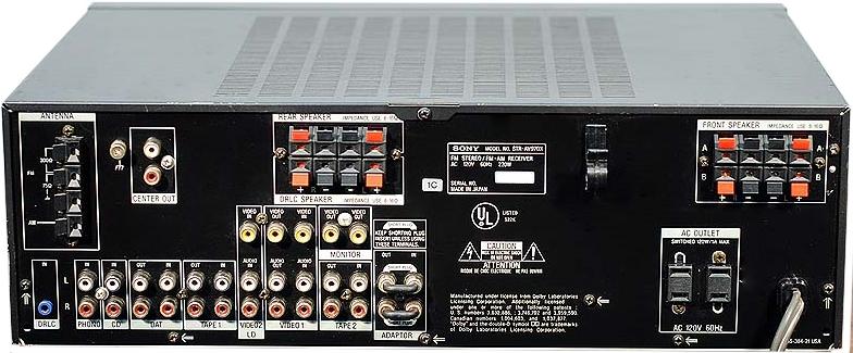 Pioneer Av Receiver >> Sony STR-D1090 - Hi-Fi Database - AV Amplifiers