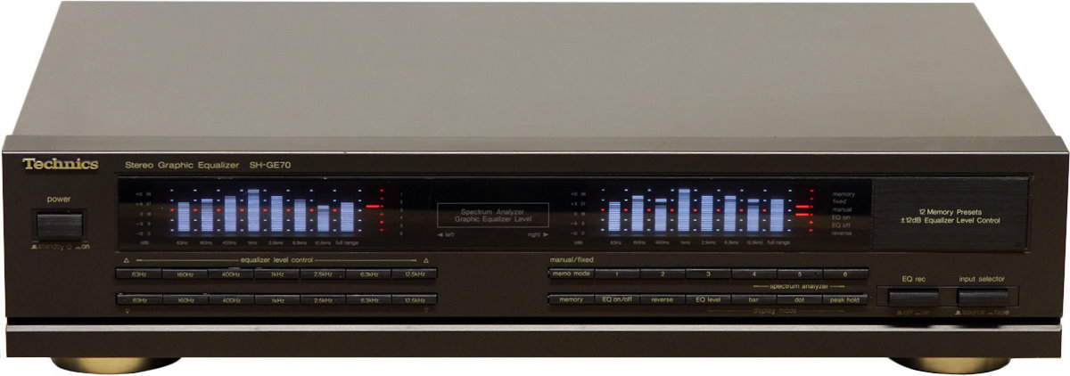 Technics Sh Ge70 Hi Fi Database Graphic Equalizers